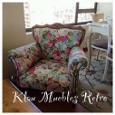 SILLON NORMANDO FLORES